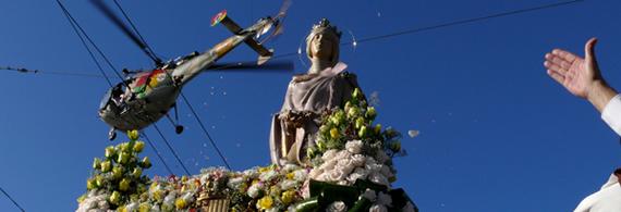 Rainha Santa na rua em Coimbra
